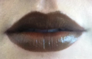 Lips, at application